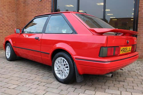 1990 Ford Escort XR3i  One owner - 7850 miles from new SOLD (picture 3 of 6)