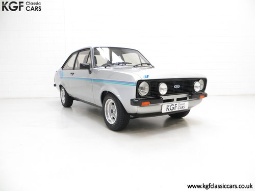1980 A Rare and Club Registered Ford Escort Mk2 Harrier SOLD (picture 1 of 6)