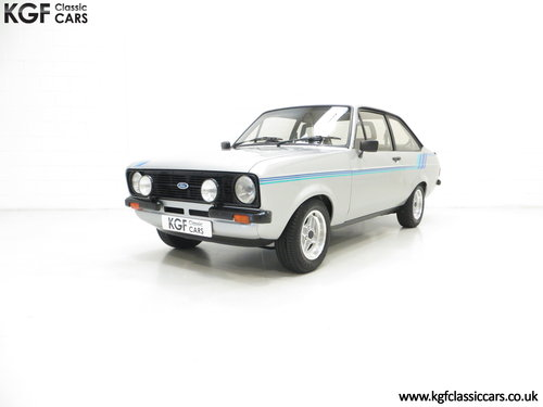 1980 A Rare and Club Registered Ford Escort Mk2 Harrier SOLD (picture 2 of 6)