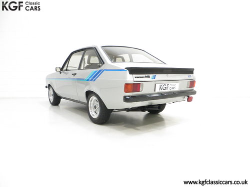 1980 A Rare and Club Registered Ford Escort Mk2 Harrier SOLD (picture 4 of 6)