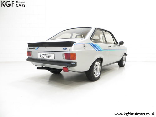 1980 A Rare and Club Registered Ford Escort Mk2 Harrier SOLD (picture 5 of 6)