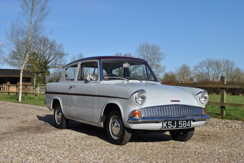Ford Anglia 105e 997 1962 SOLD (picture 1 of 6)