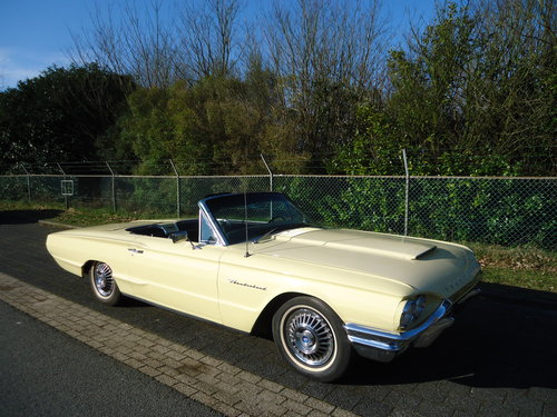 1964 Ford Thunderbird 390 V8 Convertible Phoenician Yellow For Sale (picture 6 of 6)
