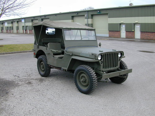 1942 FORD GPW WW2 JEEP - RESTORED - EXCEPTIONAL!! For Sale (picture 1 of 6)