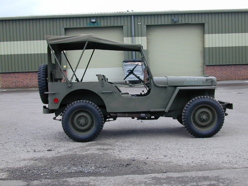 1942 FORD GPW WW2 JEEP - RESTORED - EXCEPTIONAL!! For Sale (picture 2 of 6)