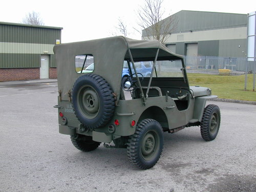 1942 FORD GPW WW2 JEEP - RESTORED - EXCEPTIONAL!! For Sale (picture 3 of 6)
