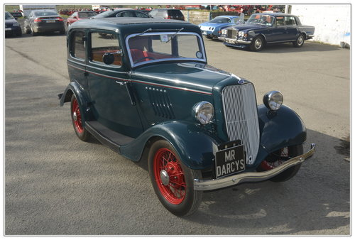 1934 Ford Model Y in pristine condition for sale SOLD (picture 1 of 6)