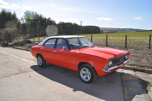 1976 MK3 FORD CORTINA MOT'D SA IMPORT WILL BE SOLD UK REGISTERED  SOLD (picture 1 of 6)
