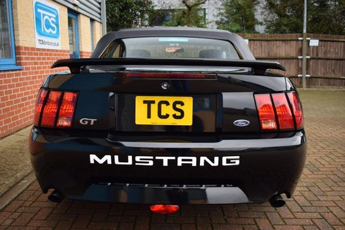 2002 Ford Mustang GT V8 Convertible Automatic  For Sale (picture 5 of 6)