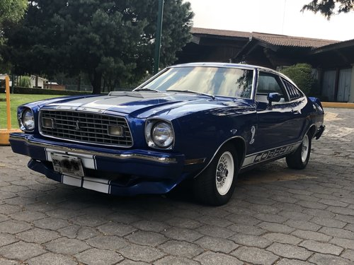 1976 MUSTANG COBRA II  For Sale by Auction (picture 1 of 6)