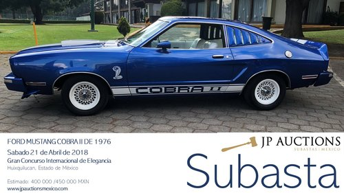 1976 MUSTANG COBRA II  For Sale by Auction (picture 6 of 6)