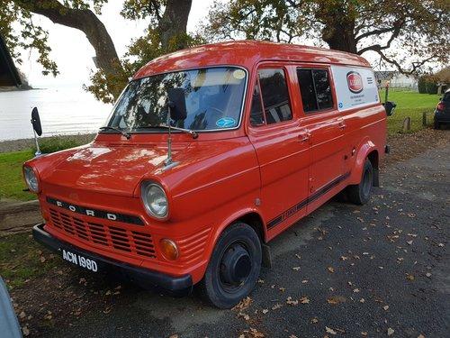 Genuine 1965 Ford Transit Mk1 22 000 Miles Mint Sold Car