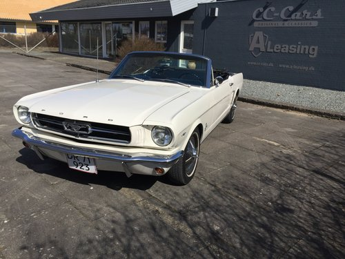2 3 L Mustang >> Ford Mustang 1964 1 2 Model 4 3 L 260 Cui Convertible Sold Car And