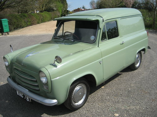 1957 Ford 100E Van (300E) SOLD (picture 1 of 6)