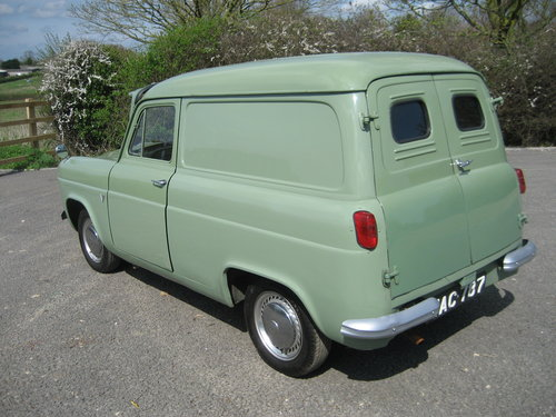 1957 Ford 100E Van (300E) SOLD (picture 5 of 6)