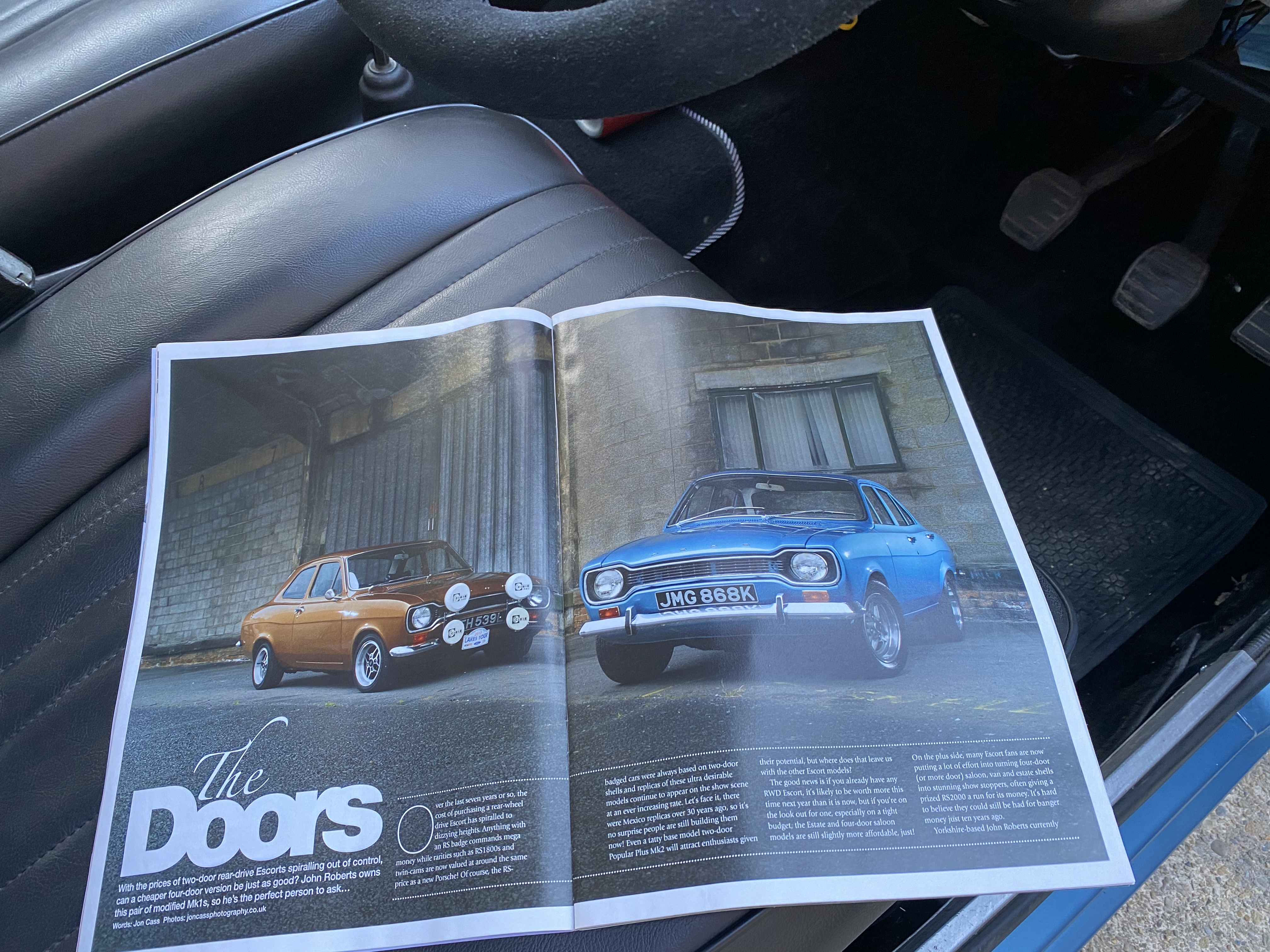 1971 STUNNING ESCORT MK1 🚘 - Retro Mag featured For Sale (picture 8 of 11)