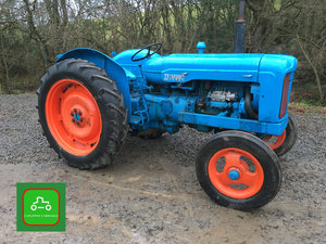 1959 FORDSON MAJOR ALL WORKING VINTAGE TRACTOR SEE VIDEO SOLD