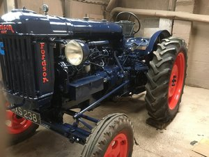 1947 Fordson e27n fitted with cummins engine