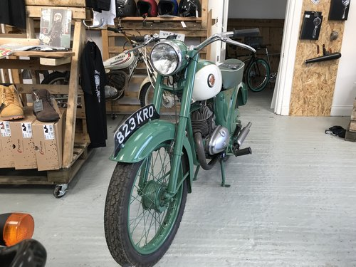 1962 A restored Francis Barnet Plover 150cc 2 stroke For Sale (picture 6 of 6)