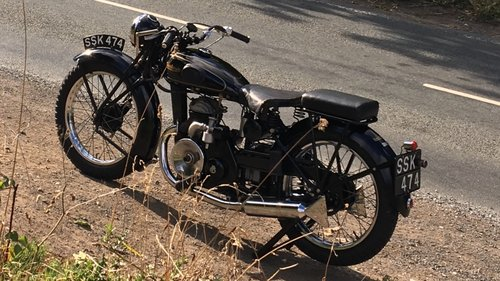 1937 Francis Barnett Seagull 250cc Villiers 3 speed SOLD | Car And