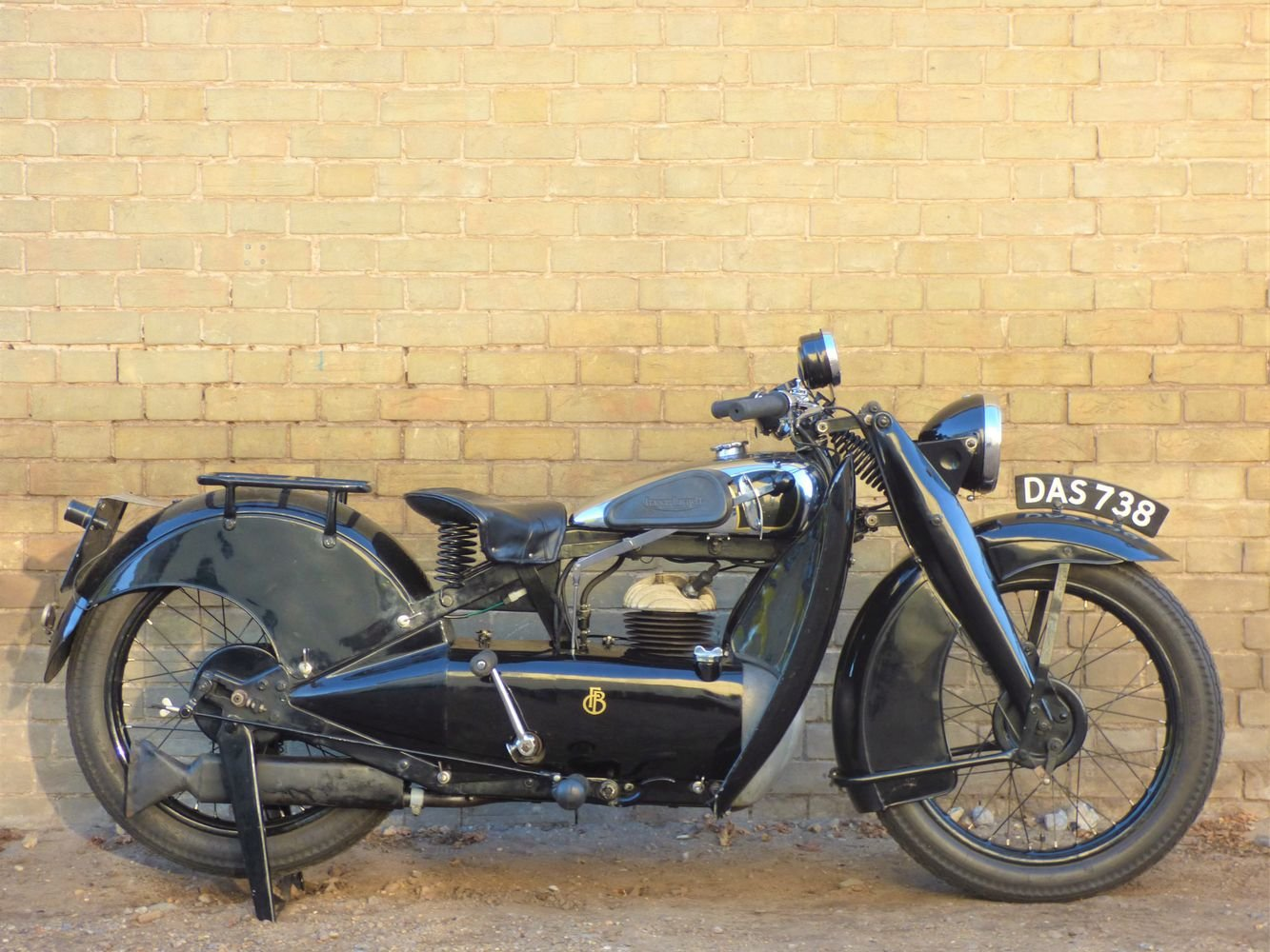 1935 Francis Barnett Cruiser 39 250cc SOLD (picture 1 of 6)