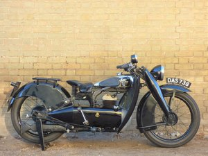 1935 Francis Barnett Cruiser 39 250cc SOLD