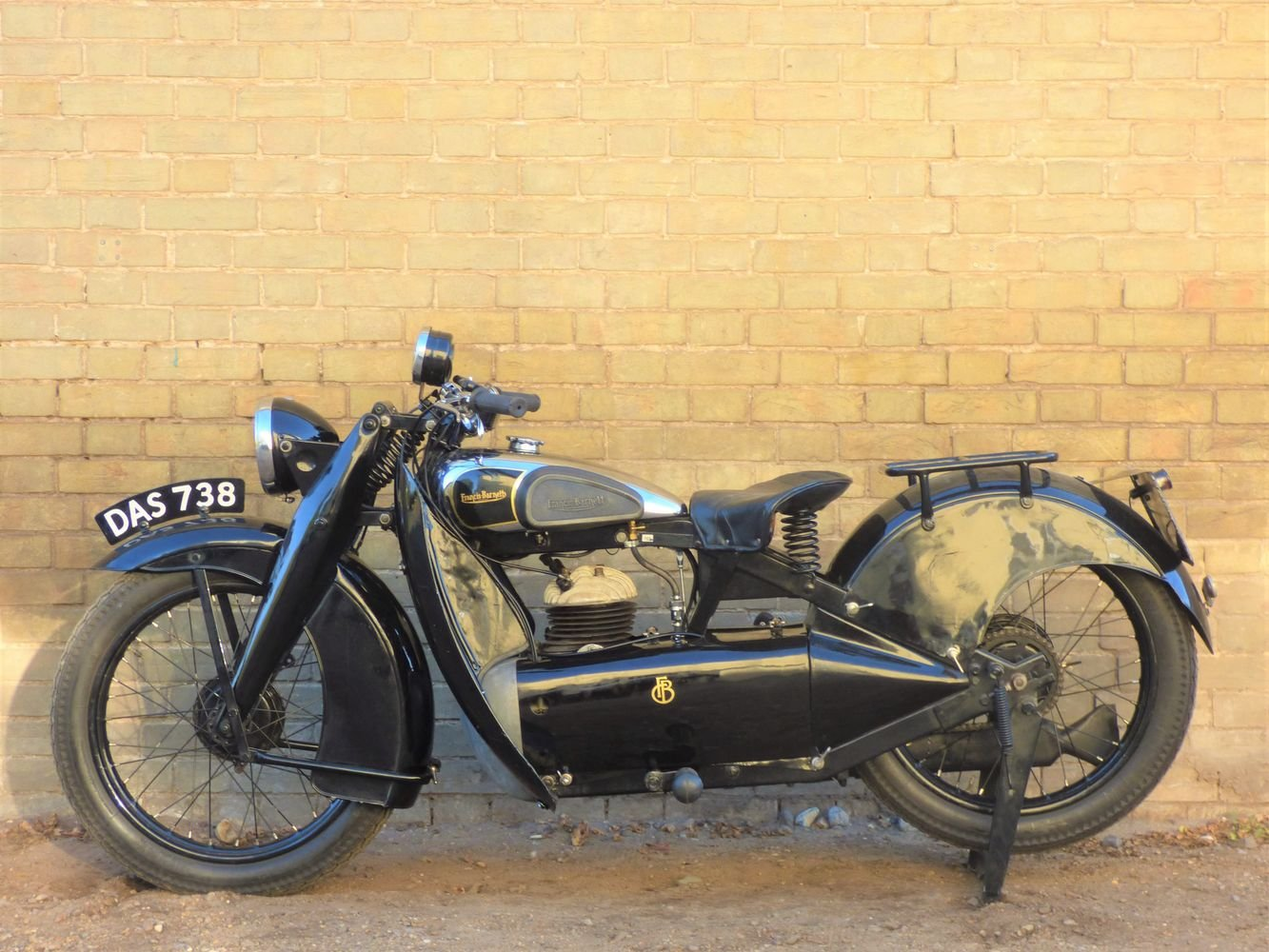 1935 Francis Barnett Cruiser 39 250cc SOLD (picture 2 of 6)