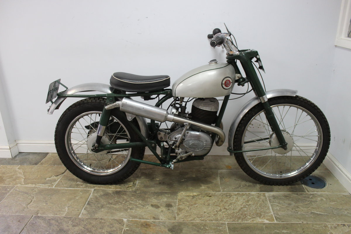 1960 Francis Barnett 250 cc Trials Bike With Electronic Igni For Sale (picture 1 of 6)
