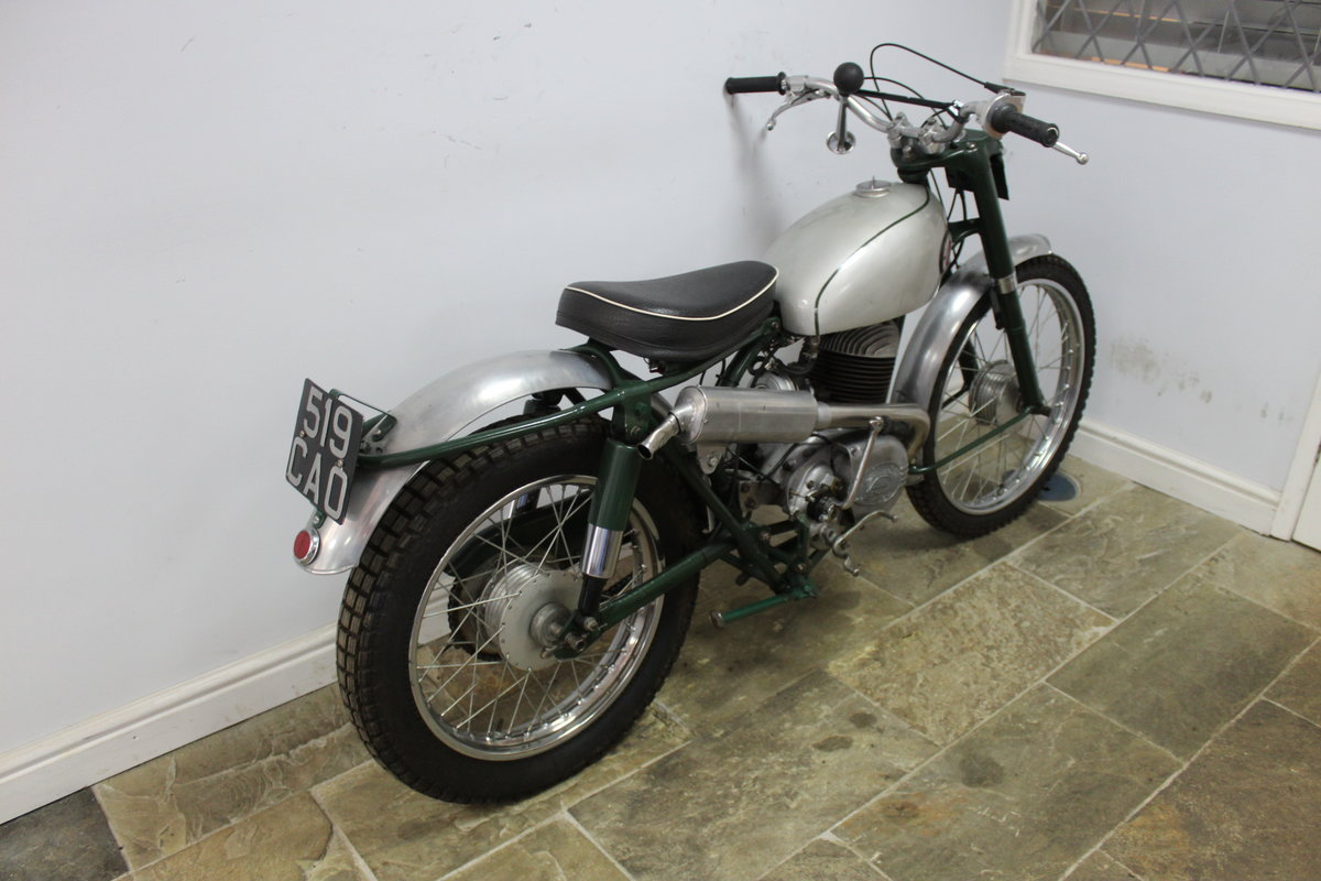 1960 Francis Barnett 250 cc Trials Bike With Electronic Igni For Sale (picture 2 of 6)