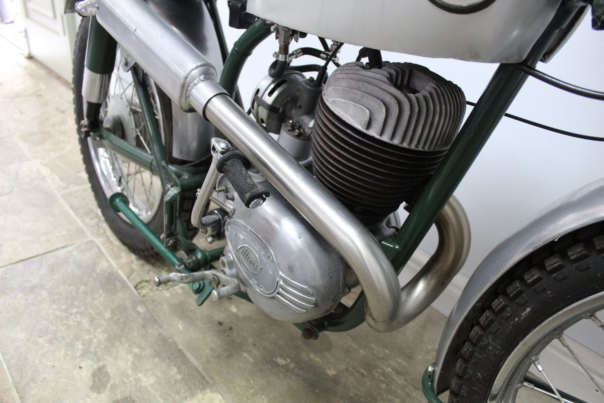 1960 Francis Barnett 250 cc Trials Bike With Electronic Igni For Sale (picture 3 of 6)