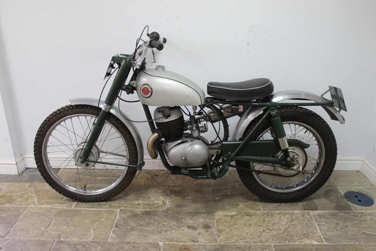 1960 Francis Barnett 250 cc Trials Bike With Electronic Igni For Sale (picture 4 of 6)
