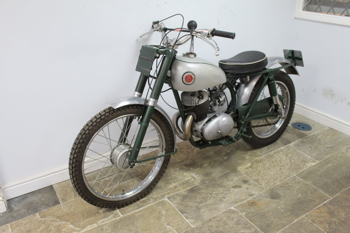1960 Francis Barnett 250 cc Trials Bike With Electronic Igni For Sale (picture 5 of 6)