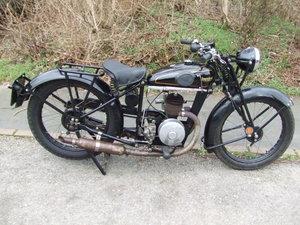 1938 Francis Barnett Plover. 150cc hand-change. For Sale