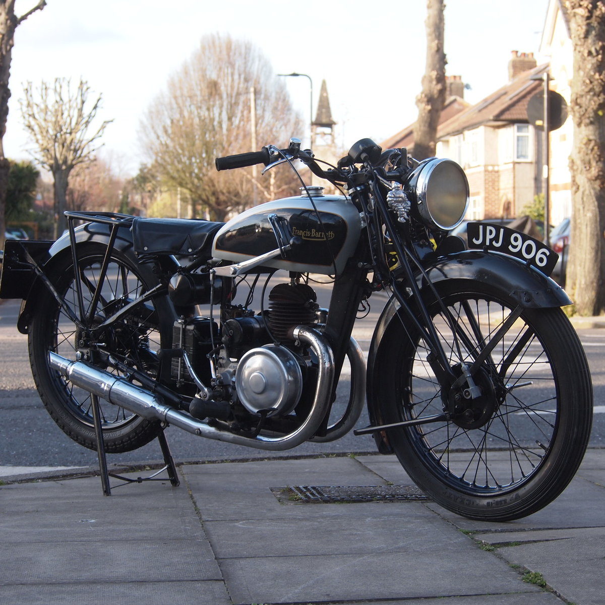 1940 Francis Barnett Plover 148cc Model 41 / Easy Starter. For Sale (picture 1 of 6)