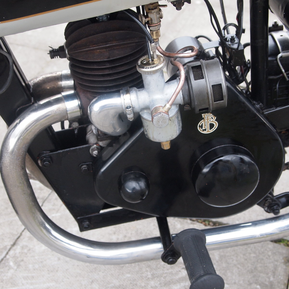 1940 Francis Barnett Plover 148cc Model 41 / Easy Starter. For Sale (picture 6 of 6)