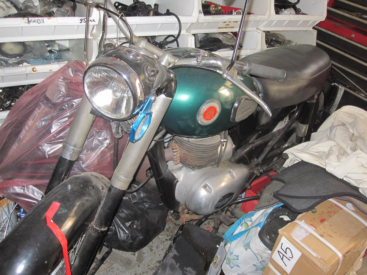 1957 Francis Barnett   250 cc For Sale (picture 1 of 5)
