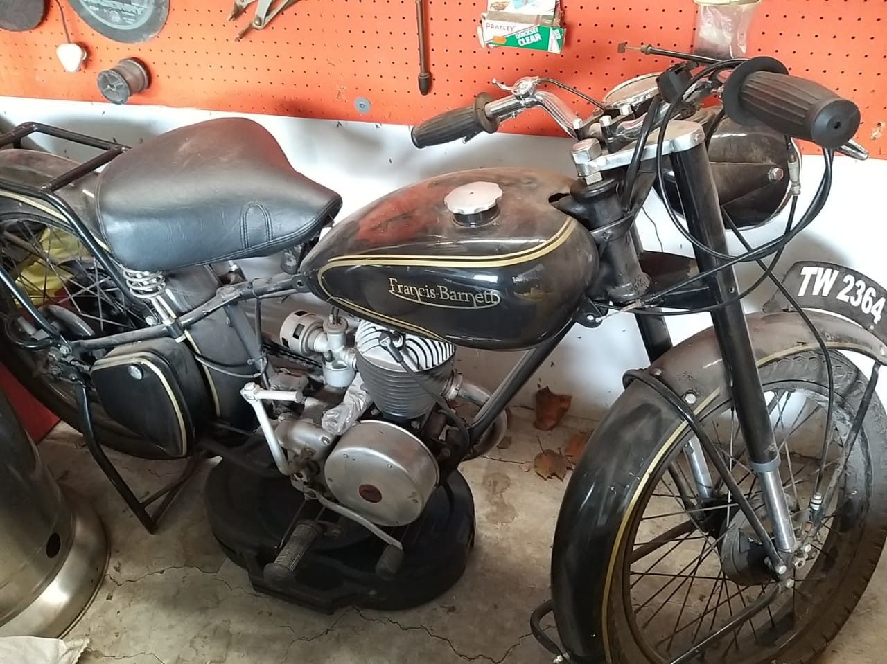 1952 Francis Barnett Motorcycle For Sale (picture 1 of 6)