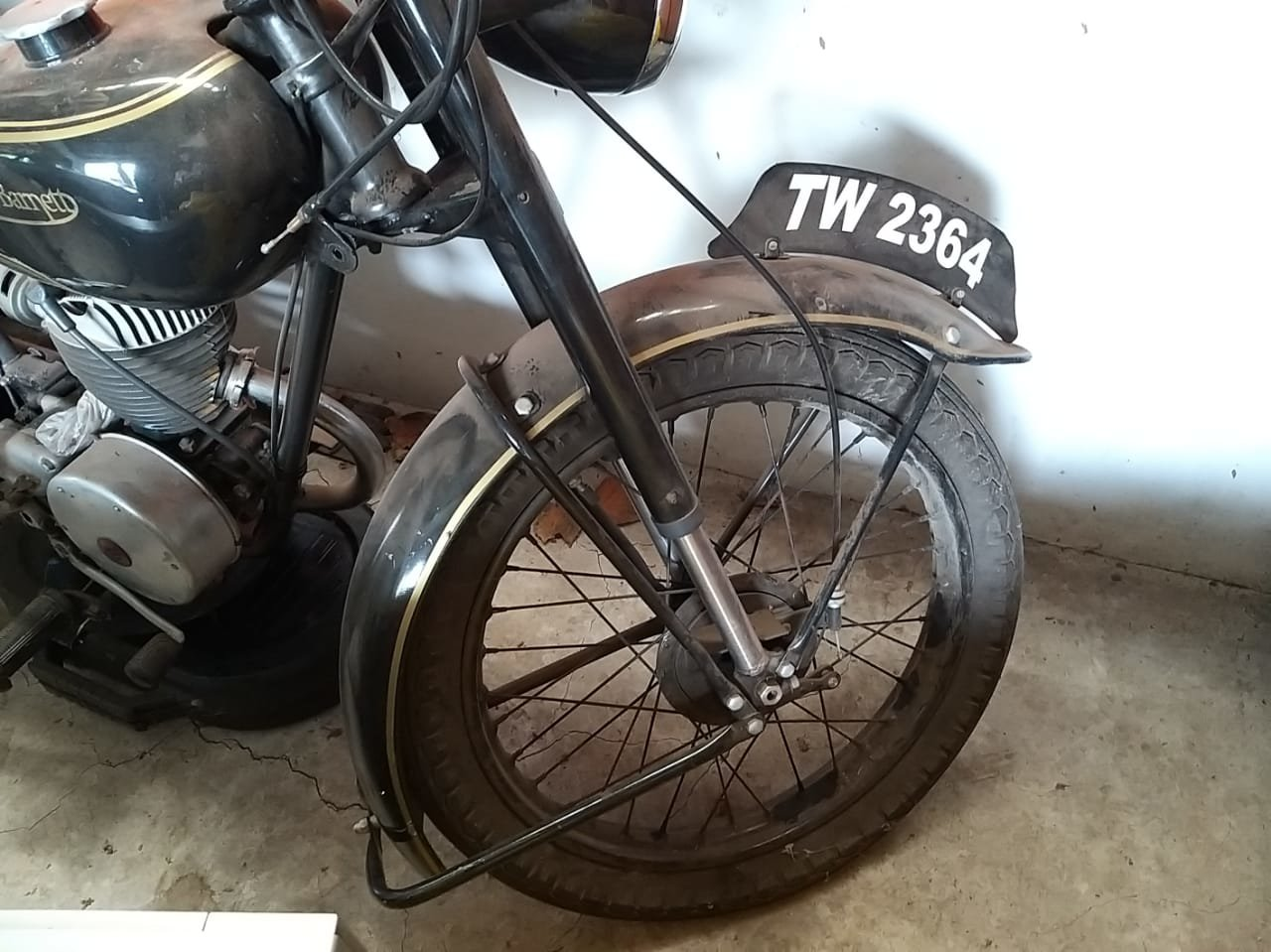 1952 Francis Barnett Motorcycle For Sale (picture 4 of 6)