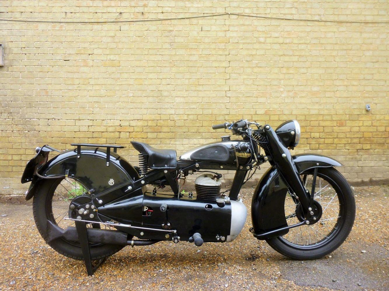 1934 Francis Barnett Cruiser 39 250cc For Sale (picture 2 of 6)