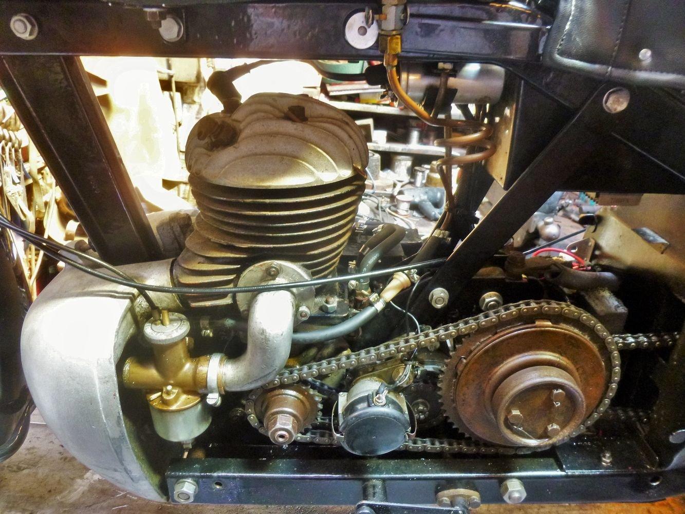 1934 Francis Barnett Cruiser 39 250cc For Sale (picture 3 of 6)
