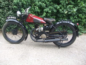 Picture of 1929 Francis Barnett Model 9 (Villiers 172cc).