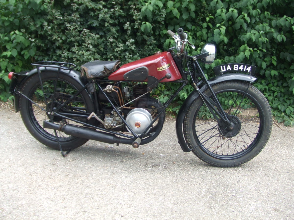 1929 Francis Barnett Model 9 (Villiers 172cc). For Sale (picture 2 of 6)