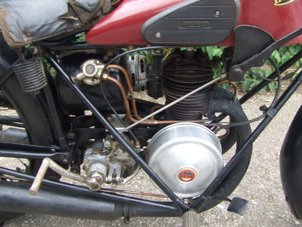 1929 Francis Barnett Model 9 (Villiers 172cc). For Sale (picture 6 of 6)