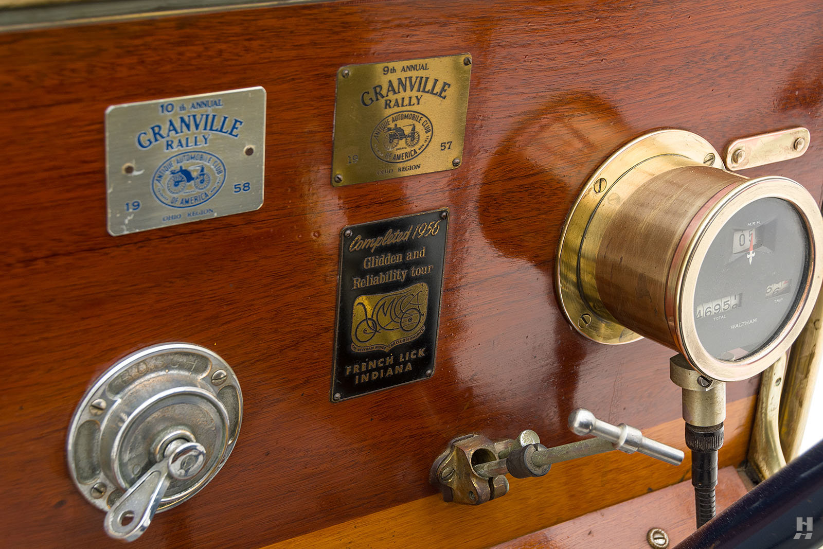 1909 Franklin Model H Cape Top Runabout For Sale (picture 5 of 6)