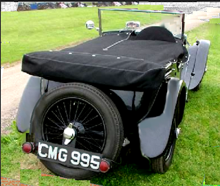 1935 Frazer Nash: 100% original body part rebuilt For Sale