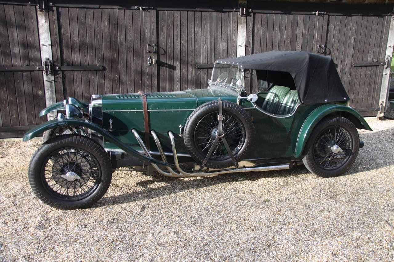 1935 Frazer Nash TT Rep Rep Freshly rebuilt with fresh Meadows SOLD (picture 1 of 6)