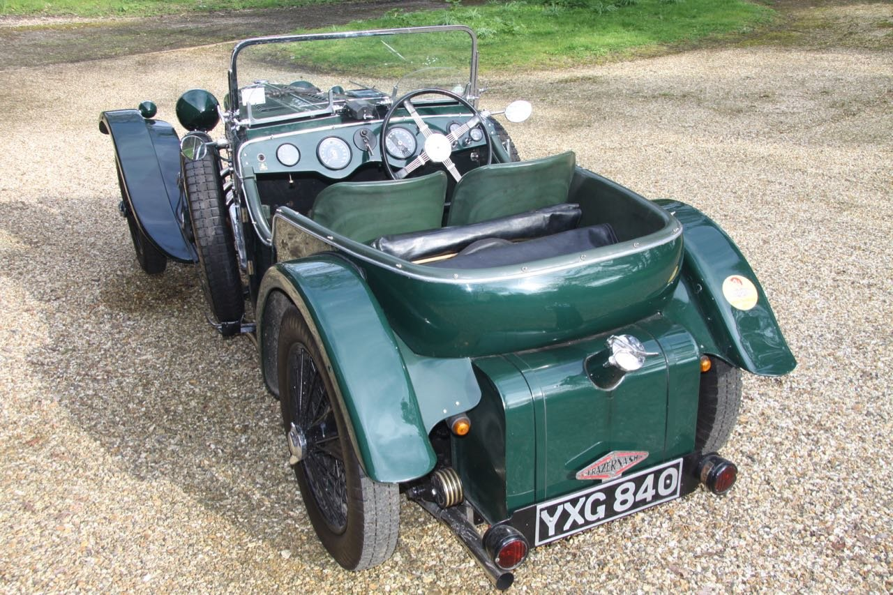 1935 Frazer Nash TT Rep Rep Freshly rebuilt with fresh Meadows SOLD (picture 2 of 6)