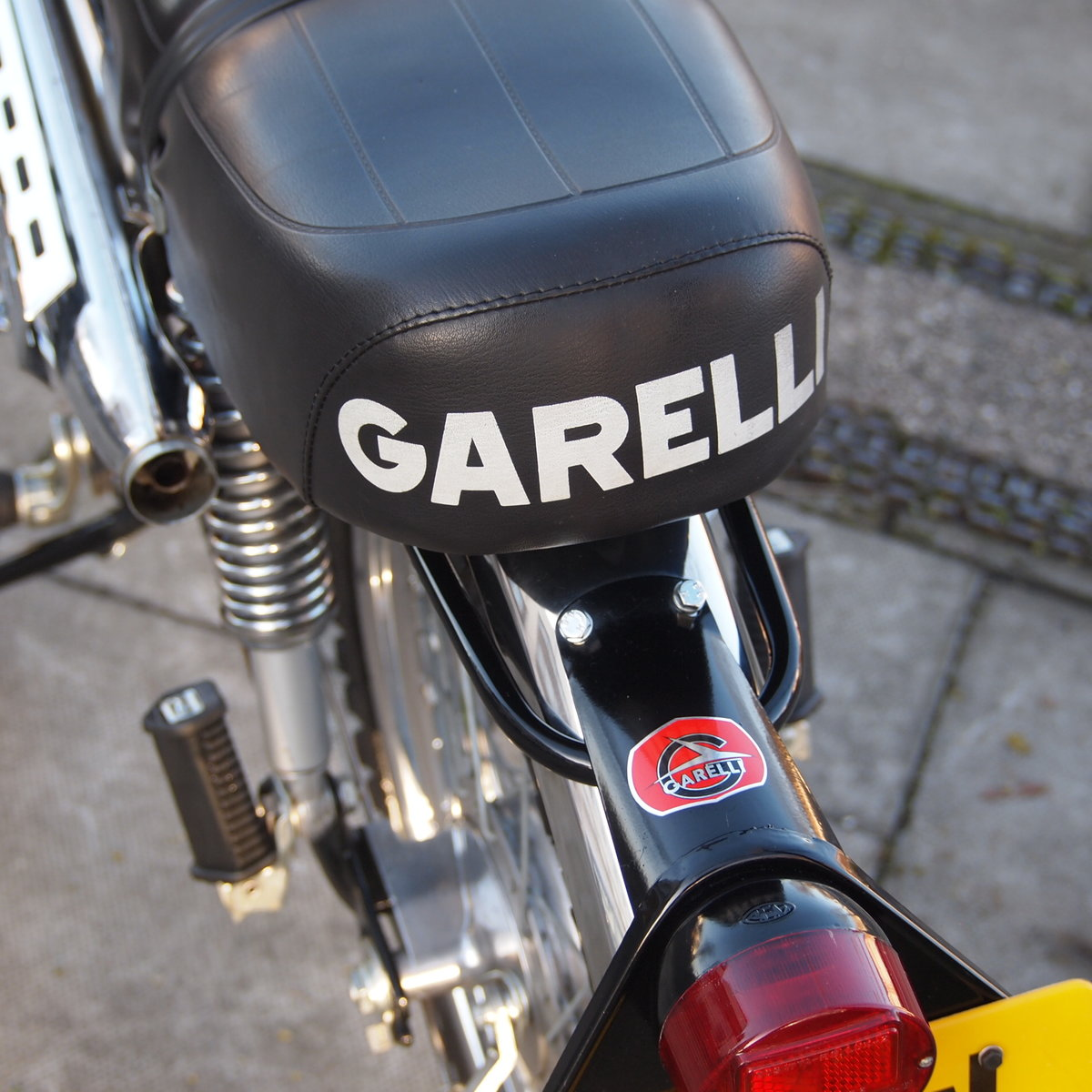 1975 Rare Radial Cylinder Head Garelli Tiger Cross With Pedals SOLD (picture 3 of 6)