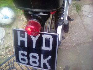 Vintage 50cc  pedal start