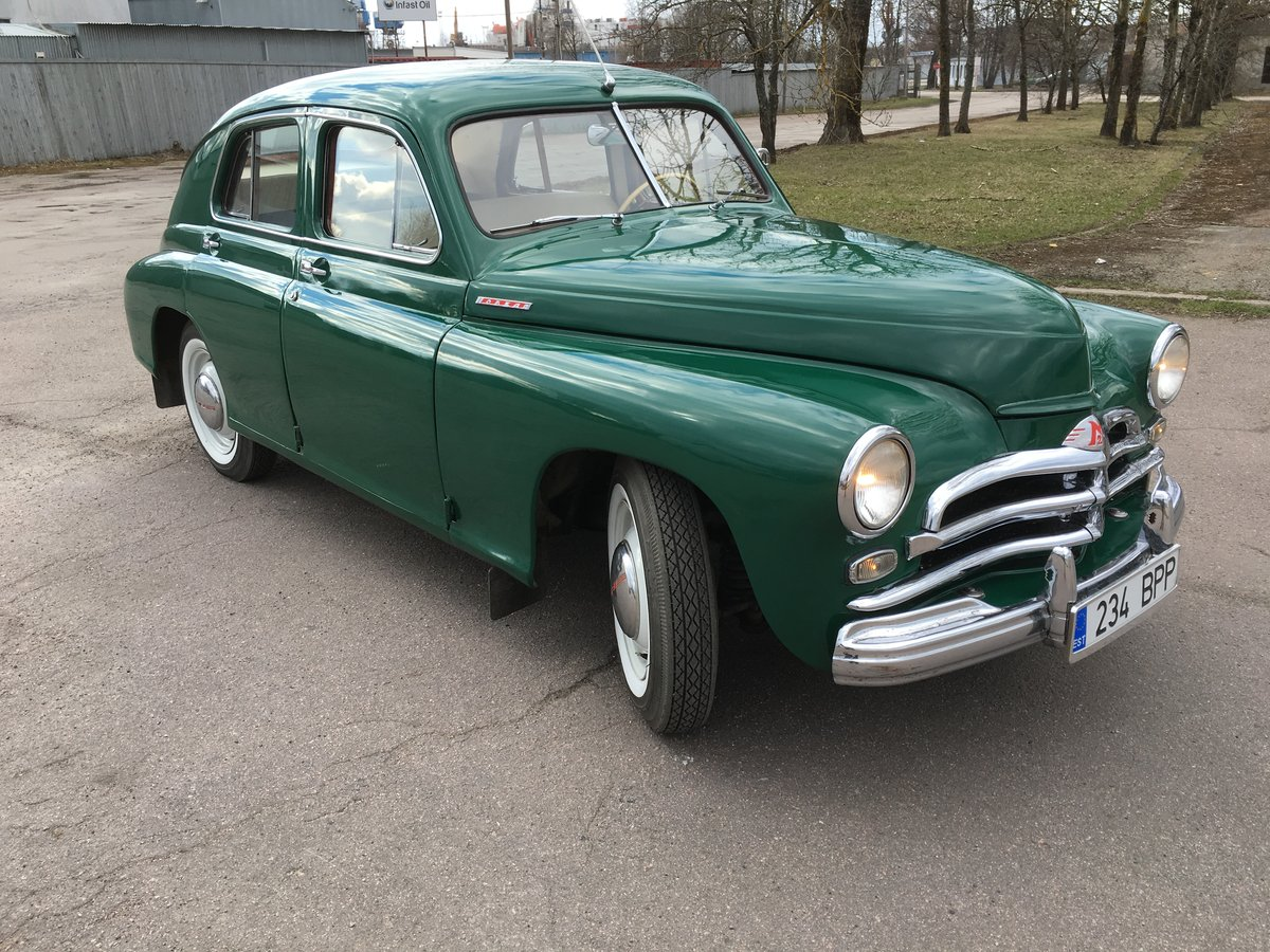 1956 GAZ 20 Pobeda for sale For Sale (picture 6 of 6)